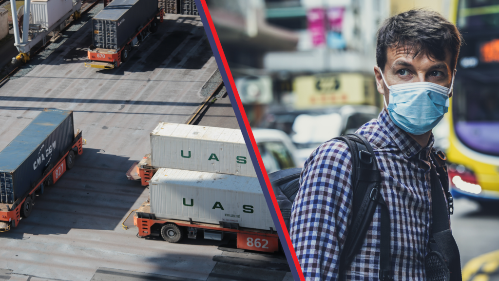 Transport staje na nogi - Transport drogowy do Chin